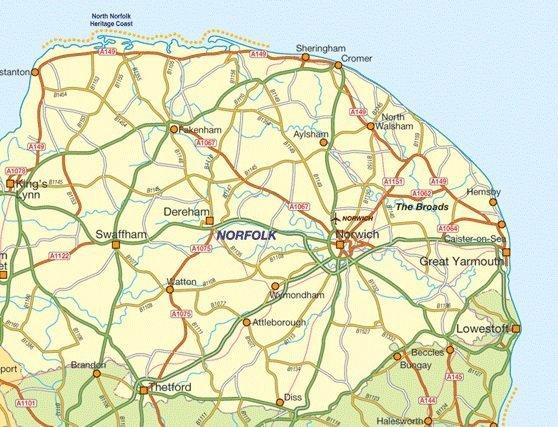 TSM Drainage coverage Norfolk