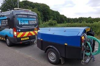 TSM Van with Tow jetter